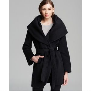 ELIE TAHARI - MARLA WOOL WRAP COAT